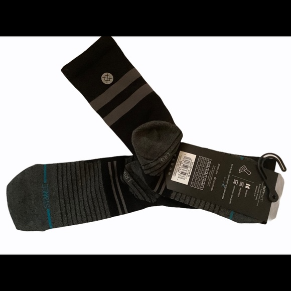 Stance Feel 360 run ultralight tab ST socks Large
